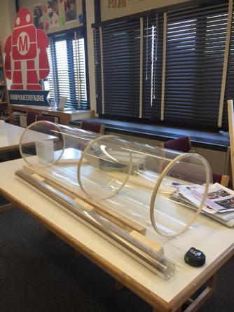 wind tube making